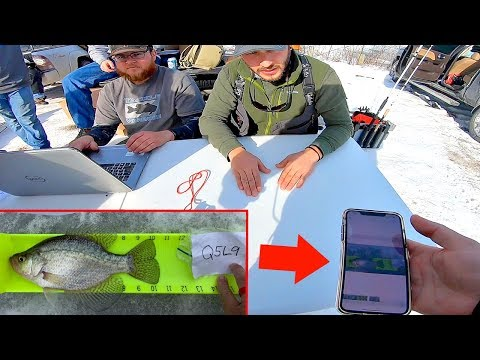 FIRST EVER Ice Fishing Tournament - HOW Did This Happen???