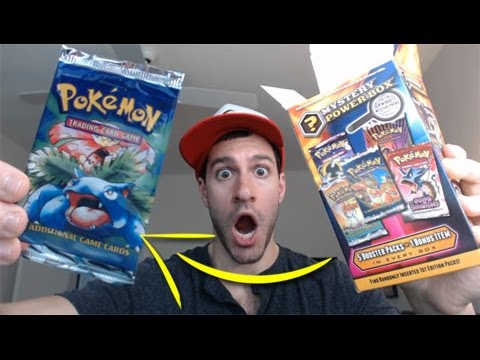 VINTAGE BASE SET PACK PULL!!! - Opening My BEST Pokemon MYSTERY POWER BOXES! - Pokemon TCG