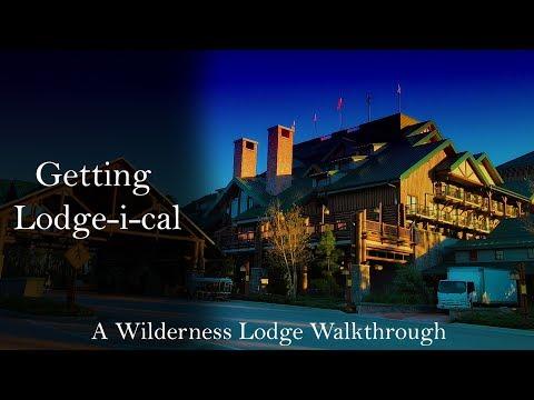 Disney's Wilderness Lodge Walking Tour - 2018