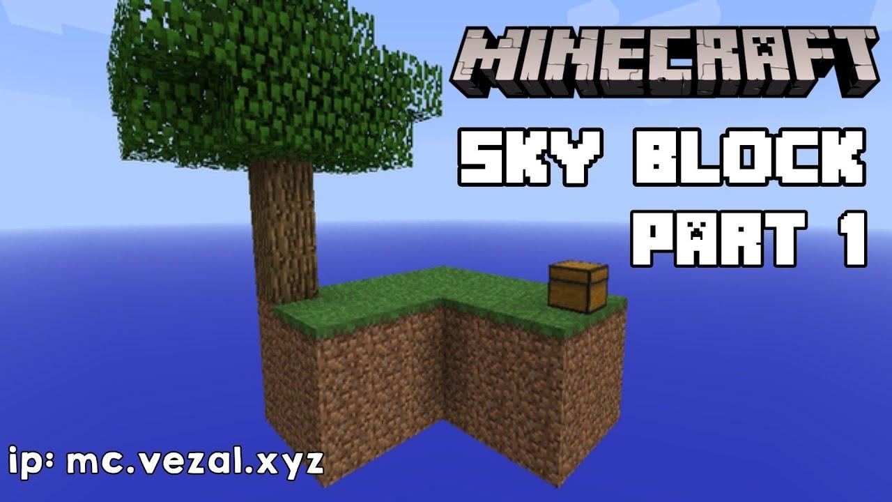 Nyoba main Minecraft   Skyblock #1