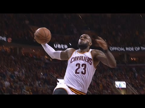 LeBron James Blows Open Dunk! Gets Away With Epic Carry! Celtics Cavs Game 4