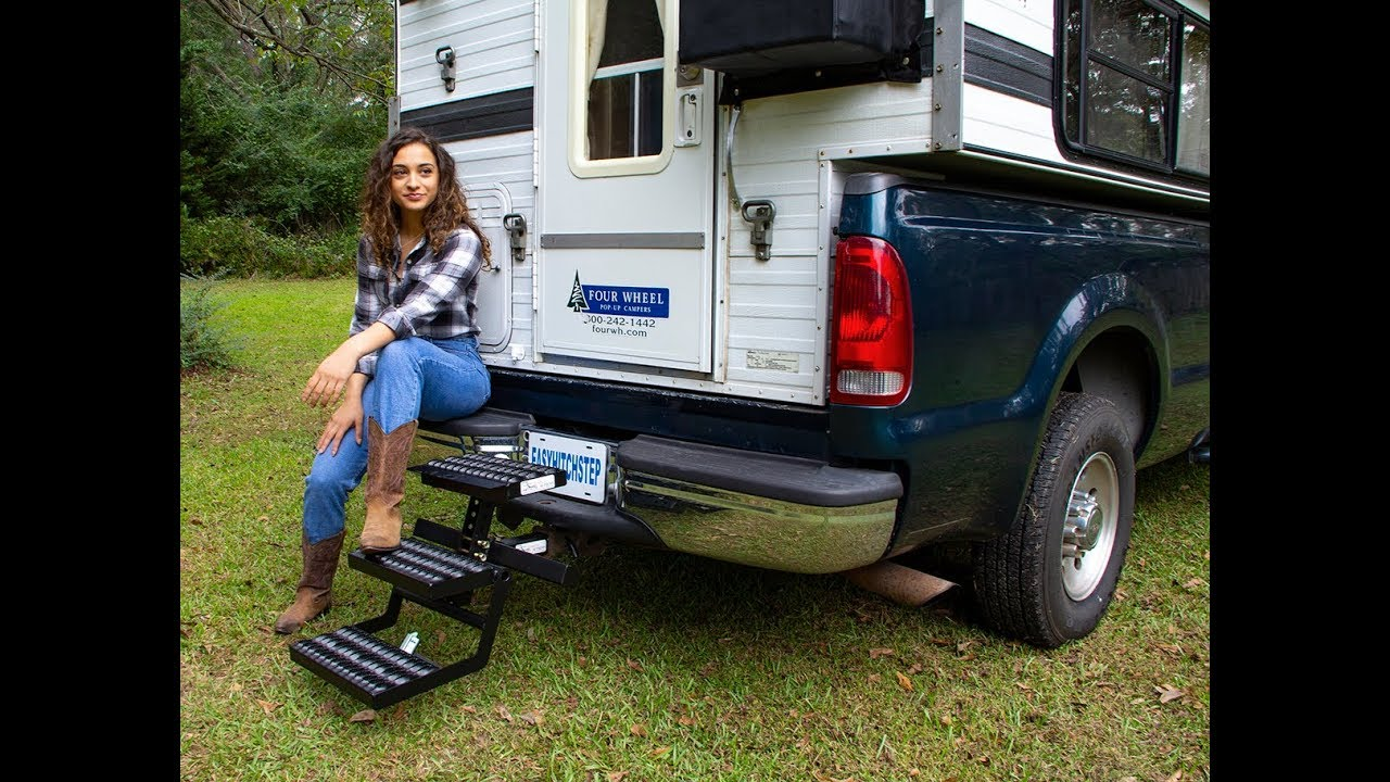 Easy Hitch Step - Best Step for Access to Campers and ...