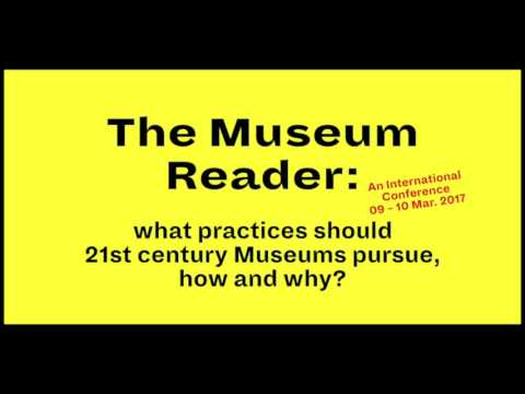 The Museum Reader Conference (audio) - Part 5