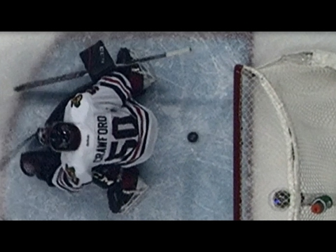 Seabrook Saves The Day, Swipes Puck Off Goal Line