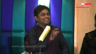 A. R. Rahman @ Kaaviya Thalaivan Press Meet