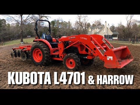 harrowing-with-a-kubota-l4701-and-land-pride-dh1572
