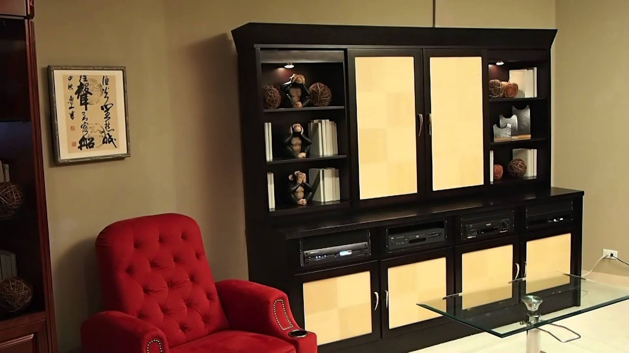 Sliding Door Motorized Tv Cabinet Youtube