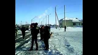 Пожар в Нефтеюганске в 11 б. мкр.