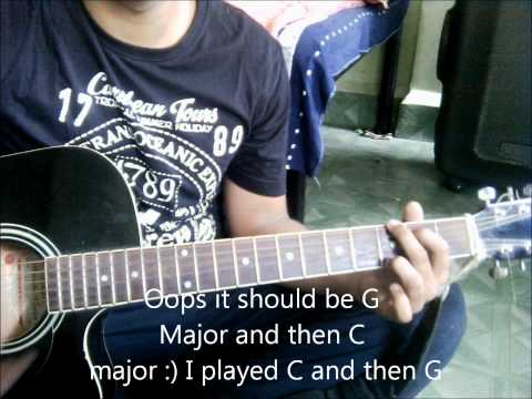 Bin tere reprise Guitar Lesson (Interlude+Guitar chords) ; I hate luv storys
