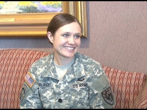 Army Lt. Col. Devon Blake