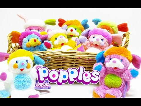 Popples Popular 1980s Toy Commercial Youtube