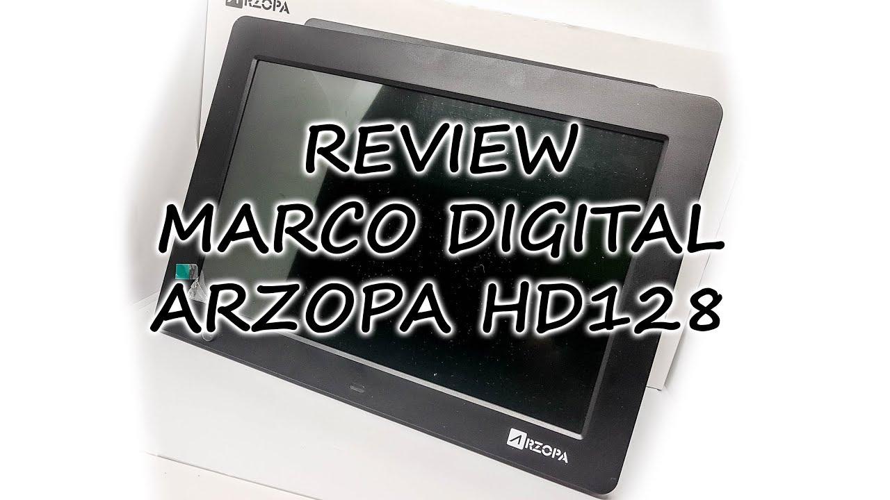 Marco de fotos digital Arzopa HD128, 12\'1 pulgadas con excelente ...