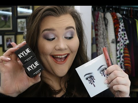 Kylie Cosmetics- The Purple Palette, Highlighters & Lip Kits- Swatches, Review & Final Thoughts!