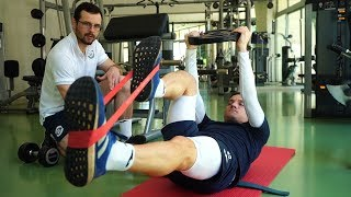Тренировочные сборы в Турции Восстановительная тренировка после матча с Каспием