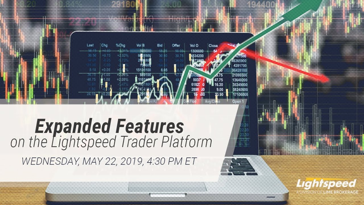 Expanded Features On The Lightspeed Trader Platform Youtube