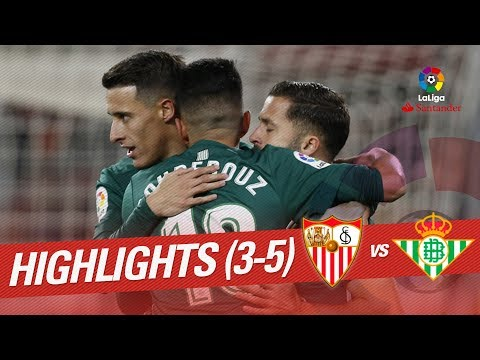 Resumen de Sevilla FC vs Real Betis (3-5)