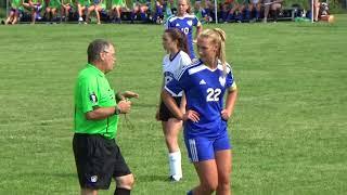 Belle Fourche vs Sioux Falls Christian 081818 girls soccer