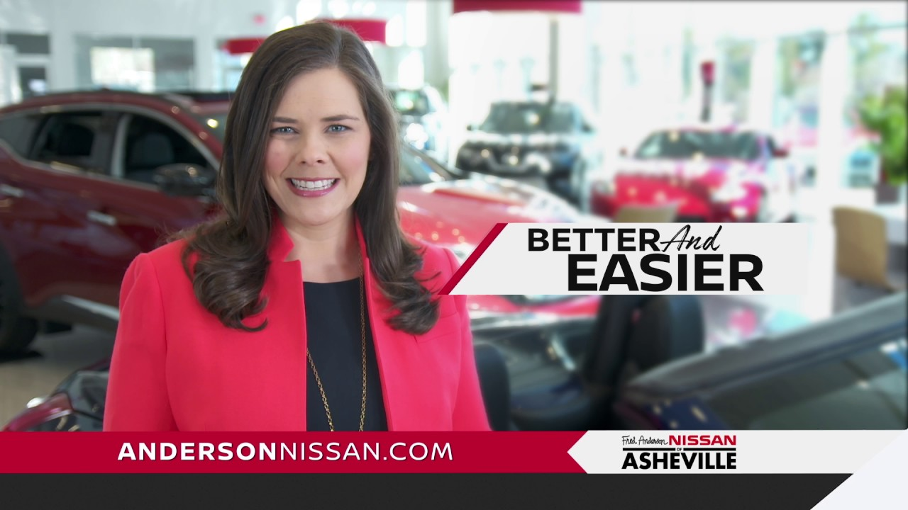 fred anderson nissan of asheville want more convenience youtube. Black Bedroom Furniture Sets. Home Design Ideas
