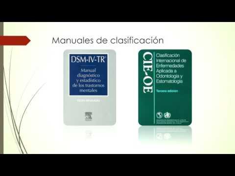 Diagnostico y clasificación de los trastornos mentales DSM IV