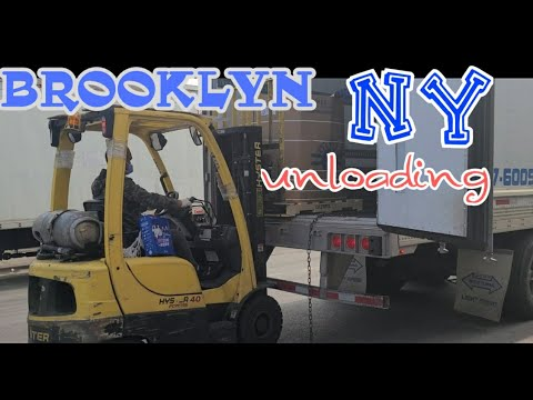 DELIVERY IN BROOKLYN NEW YORK | PINOY TRUCKER IN ALBERTA 🇨🇦