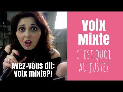 Conseils pour chanter en VOIX MIXTE (c'est quoi au juste ?)