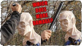 Flashlights VS. Zombie Head - Unexpected!