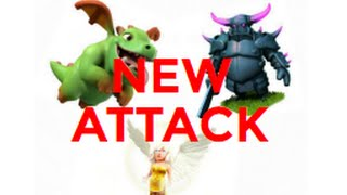 PEKKA + Baby Dragon + Healer - Clash of Clans - TH9 Attack Strategy - NEW ATTACK - 2016
