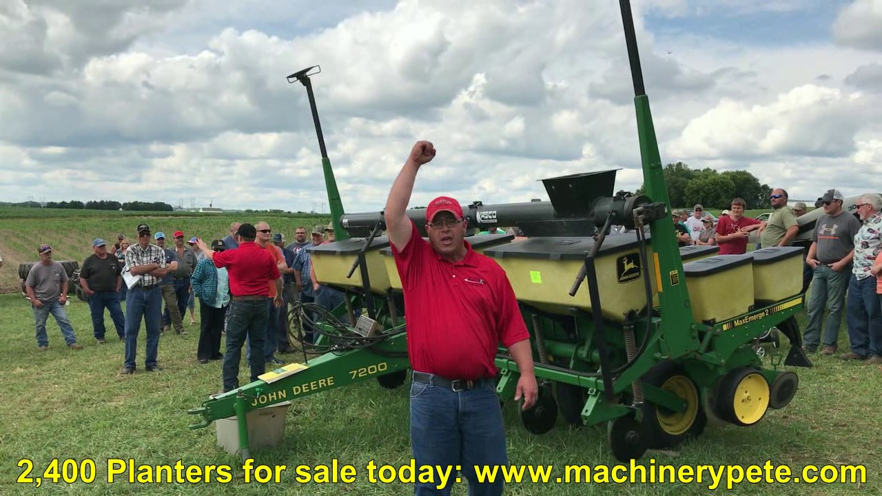 John Deere 7200 6 Row Planter Sold For 14 000 On Southeast
