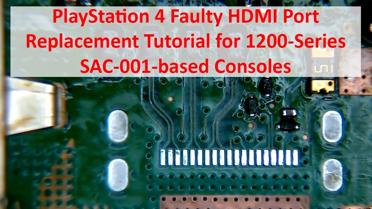Ps4 Hdmi Pin Diagram - Wiring Circuit •
