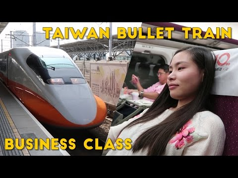 Taiwan Bullet Train BUSINESS CLASS Review