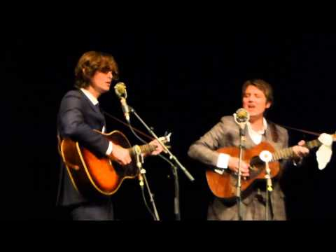 The Milk Carton Kids - Maybe It's Time - live Freiheiz Munich München 2013-09-12