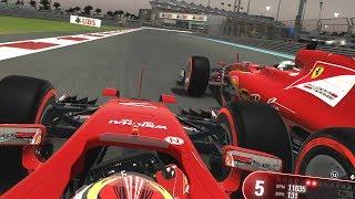 FERRARI CIVIL WAR AT FINALE - F1 2017 Mod Career Mode Part 19: Abu Dhabi