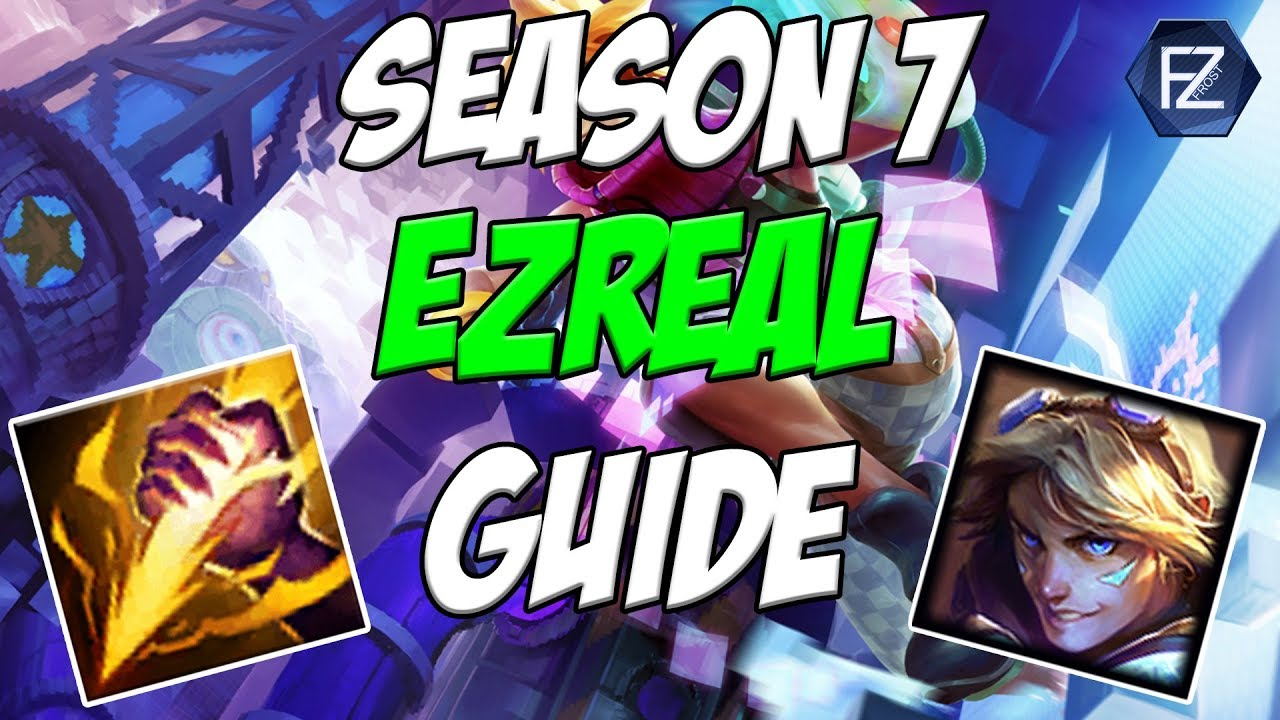 Ezreal Jungle Guide Op How To Play Ezreal Jungle In Season 7 League Of Legends Youtube