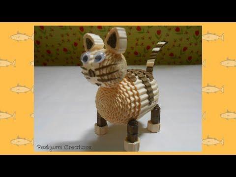DIY Kokoru Paper Cat // Kucing dari Kertas Kokoru