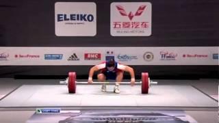 2011 IWF World Championships Women 75 Kg Snatch
