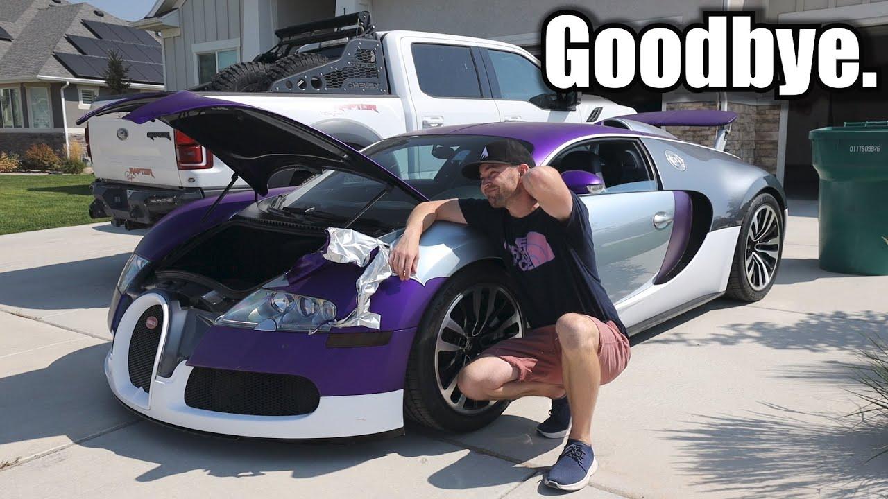 Actually selling my Bugatti.