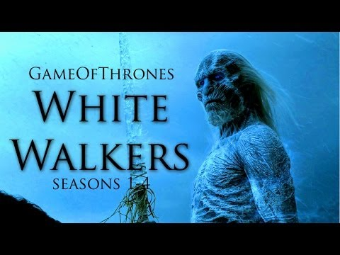 Game of Thrones - White Walkers/Wights (All Scenes S1-S4)