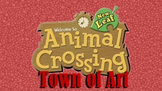 Animal Crossing: New Leaf (Town of Paintings [?]) Oh God It