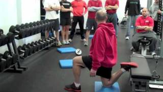 Inside the MBSC Staff Meeting: Rear Foot Elevated Split Squats