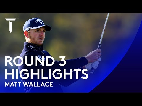Matt Wallace dances his way to third round 66 | 2020 Scottish Championship presented by AXA