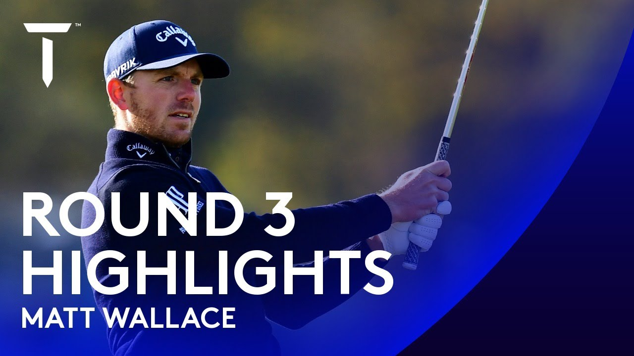 Matt Wallace dances his way to third round 66 | 2020 Scottish Championship presented by AXA