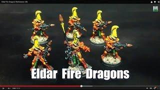 Eldar Fire Dragons Warhammer 40k(, 2014-04-04T17:03:14.000Z)