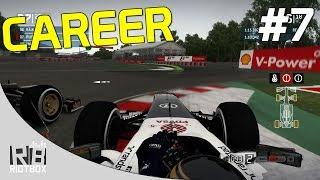 F1 2013 Career Mode Walkthrough - Part 7 - Race 7 Canada [PC Gameplay]