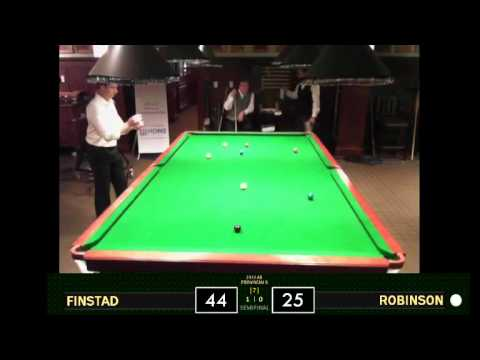 2012 Alberta Snooker Championship SF | Tom Finstad vs. Mike Robinson
