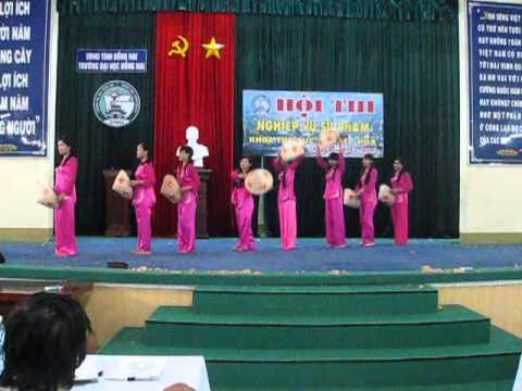Múa Thương Quá Việt Nam Lớp Nhạc K36 Đại Học Đồng Nai