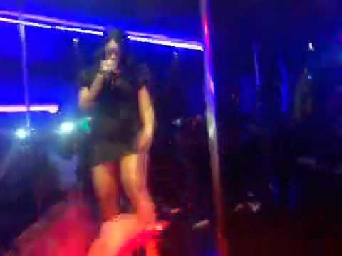 "Trina preforming ""bad bitch"" @ The Foxx Trap"