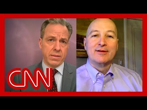 Tapper to GOP governor: Does your state think this is a hoax?