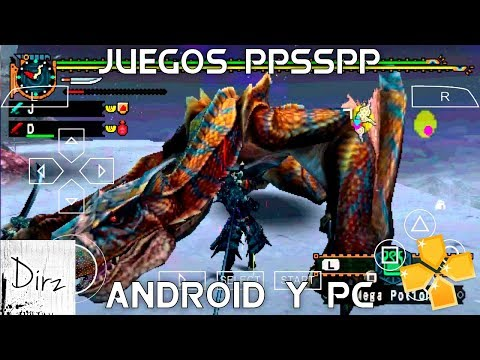 Top 6: MEJORES JUEGOS Para PPSSPP GAMA BAJA Android/PC + Links F.T DEIDEN GAMER