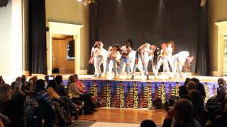 JWU - Shabach Step Team Performance 2017
