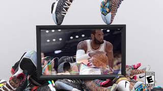 The LeBron 16 in NBA 2K19